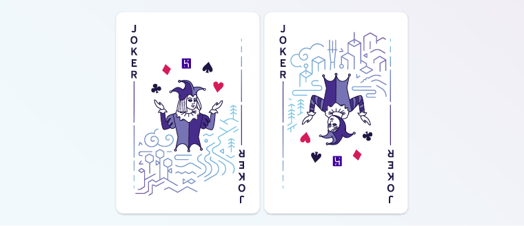 The Heroku card jokers