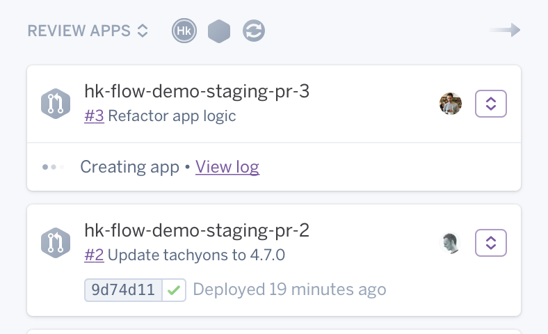 Heroku Review Apps