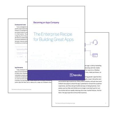 Becoming an apps company whitepaper