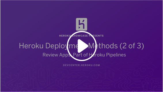 Play デプロイ: Review Apps & Pipelines