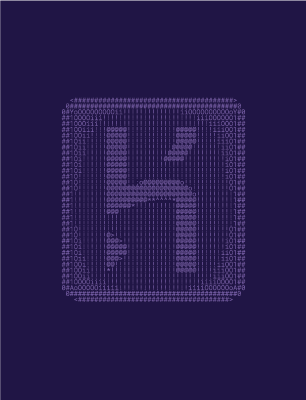 ASCII Heroku wallpaper